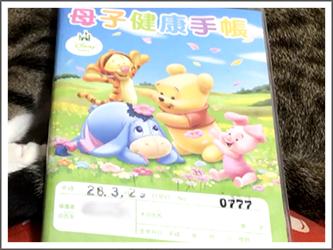 母子手帳 No.777