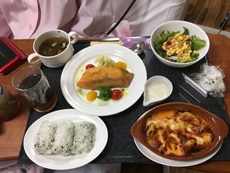 産婦人科の入院中の昼食